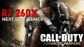 Call of Duty Advanced Warfare on AMD R7 260X (1080p)