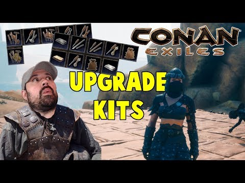 Upgrade Kits For Gear, Tools And Weapons | Conan Exiles Full Release Gameplay | S3 E2