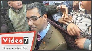 اليوم السابع ينشر فيديو لمنتحل صفة مستشار رئيس الجمهورية بعزاء عمر عبد الرحمن
