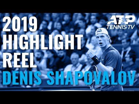 DENIS SHAPOVALOV: 2019 ATP Highlight Reel
