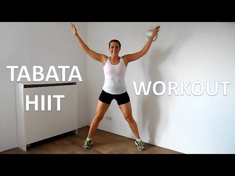 16 Minute Tabata HIIT Workout At Home – Jumping Jacks Cardio Special