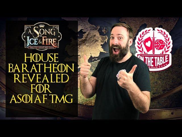 ASOIAF TMG: Baratheon Faction Revealed!