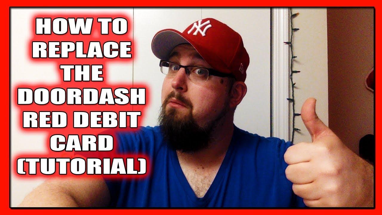 doordash replacement red card