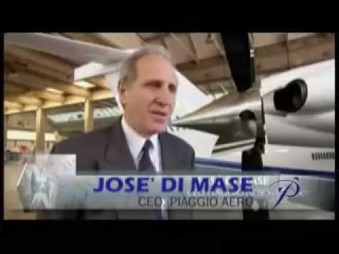 Piaggio Aero  P.180 Avanti Video Clip
