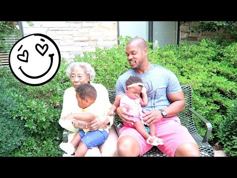 THE TWINS SPEND MORE TIME WITH GRANDMA & THEIR UNCLES!