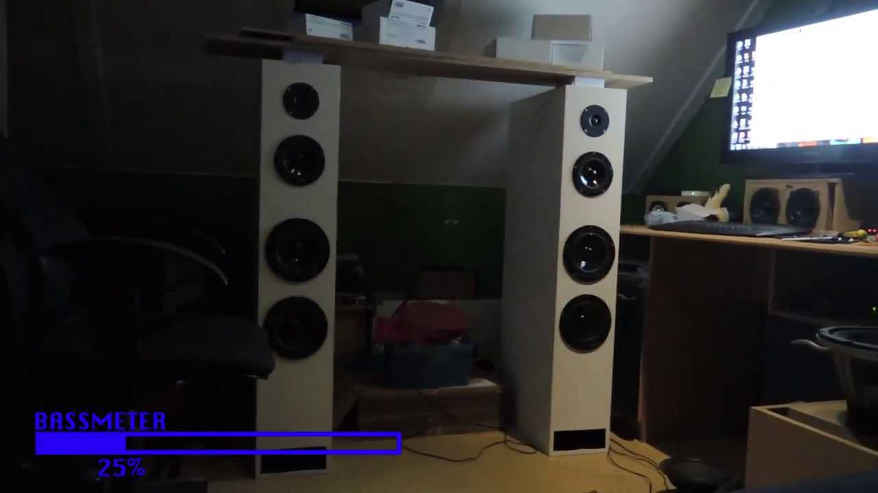 Awesome Speakers diy tl speakers finished! awesome bass and clean sound! - youtube