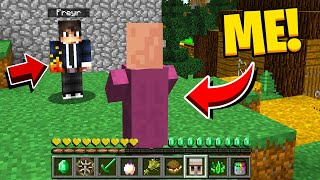 TALKING VILLAGER PRANK IN MINECRAFT! - Funny Minecraft Trolling Video