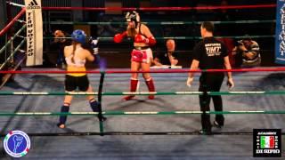 Valentina Tron vs Gloria Della Vedova , Storm Fighting Night 4