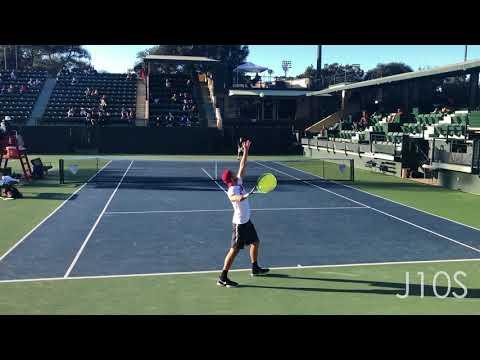 J10S Top Singles Points - College Tennis 2018 (Part 1)