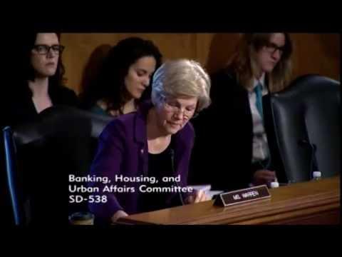 Elizabeth Warren - Cybersecurity: Enhancing Coordination to Protect the Financial Sector