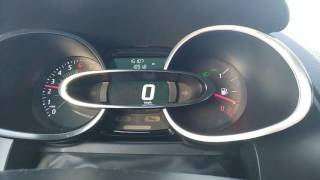 Renault Clio 4 0.9 tCe 90 KM 3 cylinders turbo 0-100 acceleration