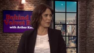 michelle forbes on former co star patrick stewart behind the velvet rope with arthur kade