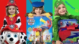 Trick or Treat for Paw Patrol & PJ Masks with Walmart Toy Board Member Jace