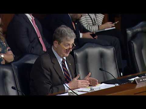 Sen. Kennedy Questioning Jeff Sessions-New Orleans