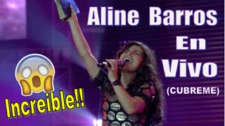 La Voz Cristiana mas IMPRESIONANTE del Mundo! (Tienes que ver Esto!) ALINE BARROS - Cubreme