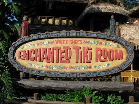 Disney's Enchanted Tiki Room Disney World HD FULL ATTRACTION (Pandavision)