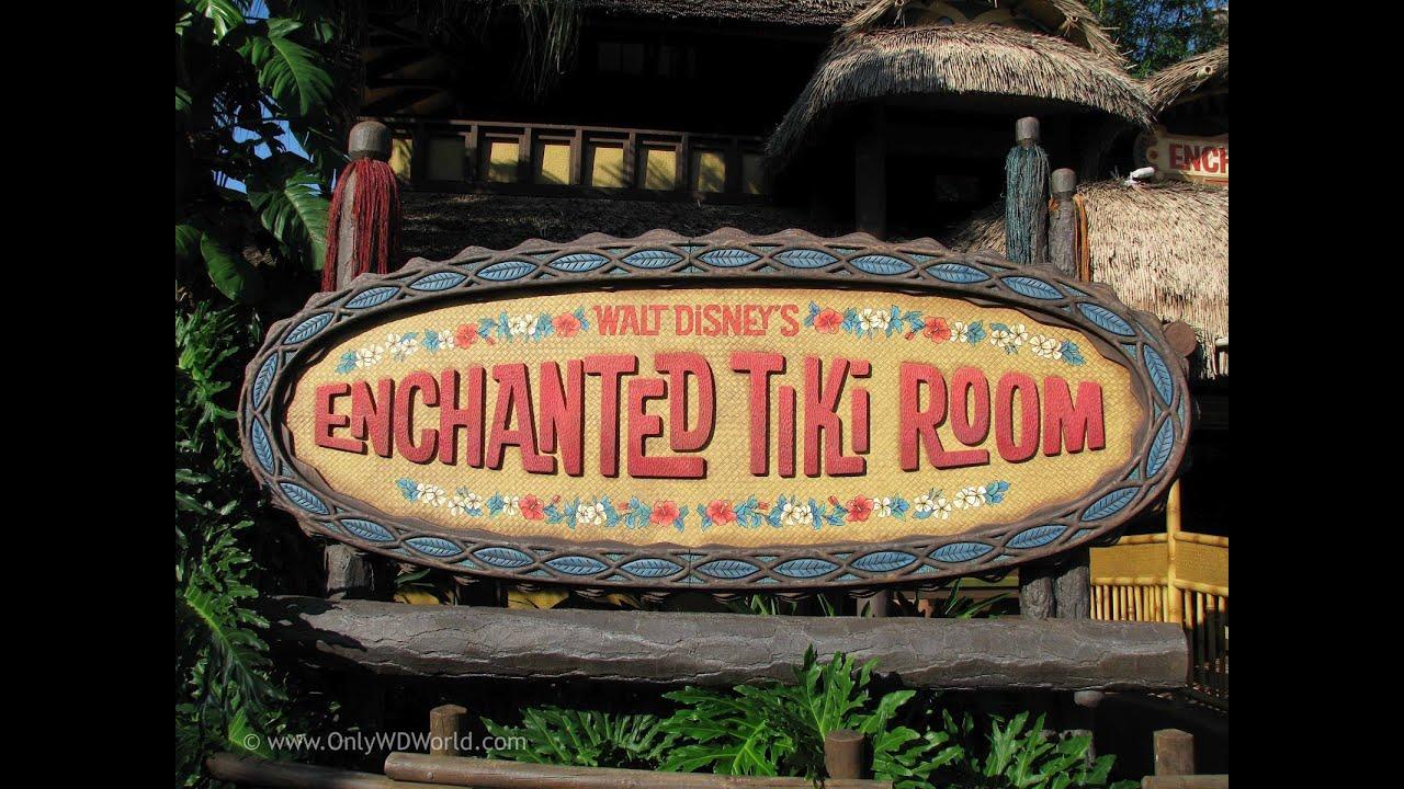 Disneys Enchanted Tiki Room Disney World HD FULL ATTRACTION Pandavision  YouTube