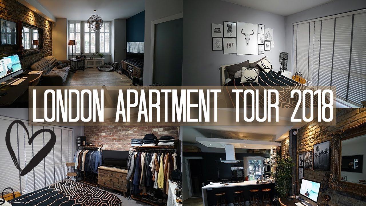 London Apartment Tour 2018  Interior Design Copper