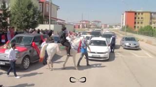 Erzurum'da sıra dışı bir düğün  (BİLGE - AYKUT)