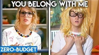 Download TAYLOR SWIFT WITH ZERO BUDGET! (You Belong With Me) Mp3 and Videos