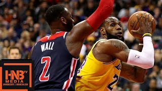 Los Angeles Lakers vs Washington Wizards Full Game Highlights | 12.16.2018, NBA Season
