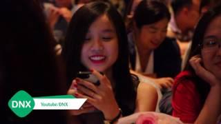 Hoài Lâm và bạn gái tách nhau khi tham dự họp báo Cô Nàng Ngổ Ngáo | DNX