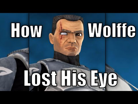 How Commander Wolffe Lost His Eye