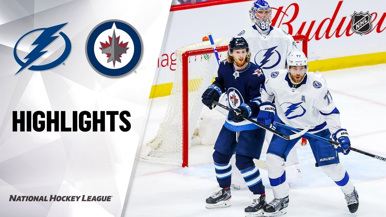 NHL Highlights | Lightning @ Jets 1/17/20