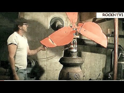 Coal Stove Hot Air Stirling Engine Fan DIY