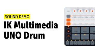 IK Multimedia UNO Drum Sound Demo (No Talking)