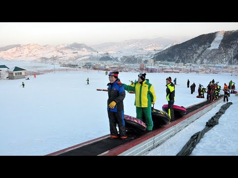 Kanggye Ski Resort Newly Built in DPRK