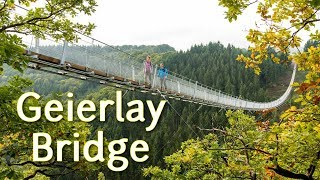 Geierlay Bridge Germany 4K
