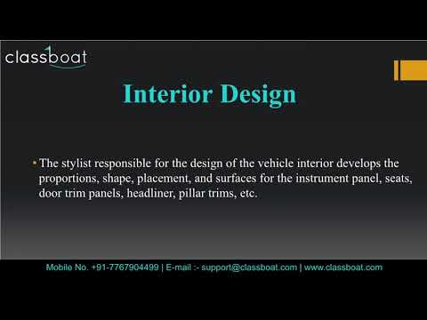 Automotive Design Courses In Pune Youtube