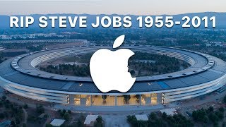 STEVE JOB'S VISION IN HIS OWN WORDS: Apple Park Mid-August Aerial Tour in 4K
