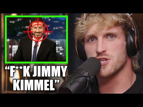 LOGAN PAUL RIPS JIMMY KIMMEL FOR DONALD TRUMP COMPARISON