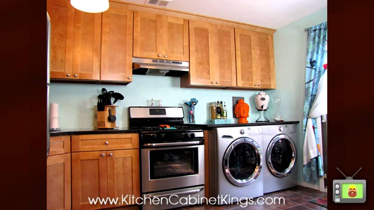 Shakertown kitchen cabinets by kitchen cabinet kings youtube for Kitchen cabinets youtube