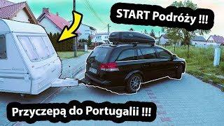 Rozpoczynamy Podróż do Portugalii !!! - Nieudany START i Wyrwane Okno (Vlog #291)