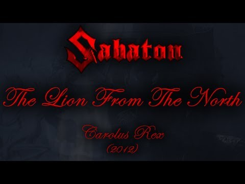 Sabaton - The Lion From The North (Lyrics English & Deutsch)