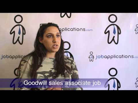 Goodwill Interview - Sales Associate 4