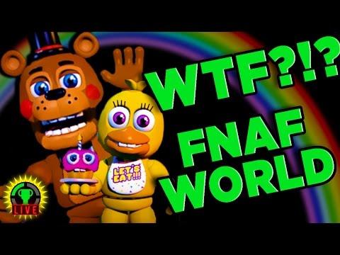 FNAF WORLD - Dark Secrets UNCOVERED! (Part 1)