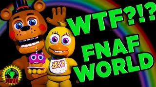 FNAF WORLD - Dark Secrets UNCOVERED! (Part 1)