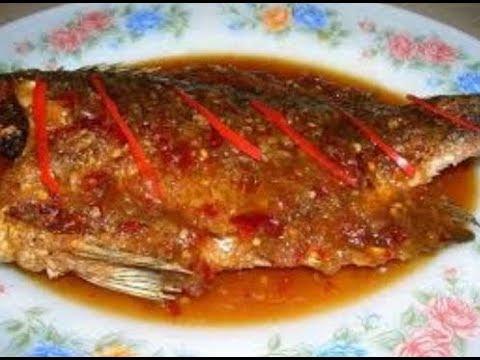 Fried Fish With Tamarind Sauce Pla Rad Prik ปลาราดพริก