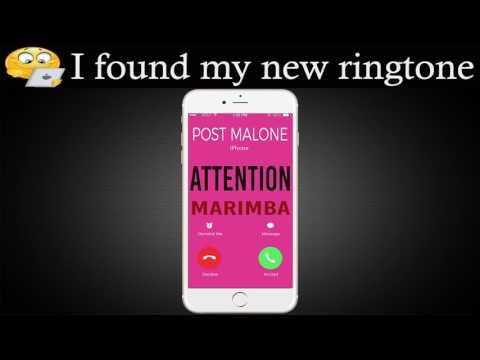 Latest iPhone Ringtone - Attention Marimba Remix Ringtone - Charlie Puth