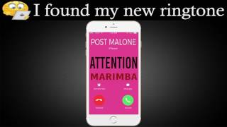 Enjoy marimba remix of attention by charlie puth: https://apple.co/36z6tpf best iphone ringtone puth for your iphone! ***************...
