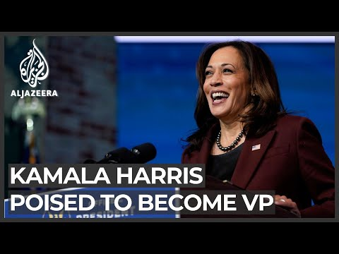 Kamala Harris prepares to make history as first US female, Black vice president