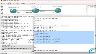 GNS3 Talks: Cisco IOS-XRv import and configuration Part 3: OSPF IOS-XRv and IOSv
