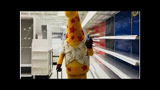 Open Post: Hosted By The Sad Final Picture Of Geoffrey The Giraffe Leaving Toys 'r' Us