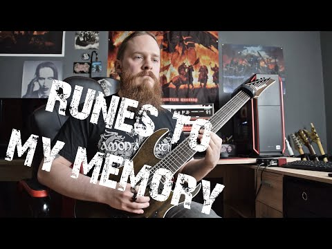 Amon Amarth - Runes To My Memory (Guitar Cover by FearOfTheDark) mp3
