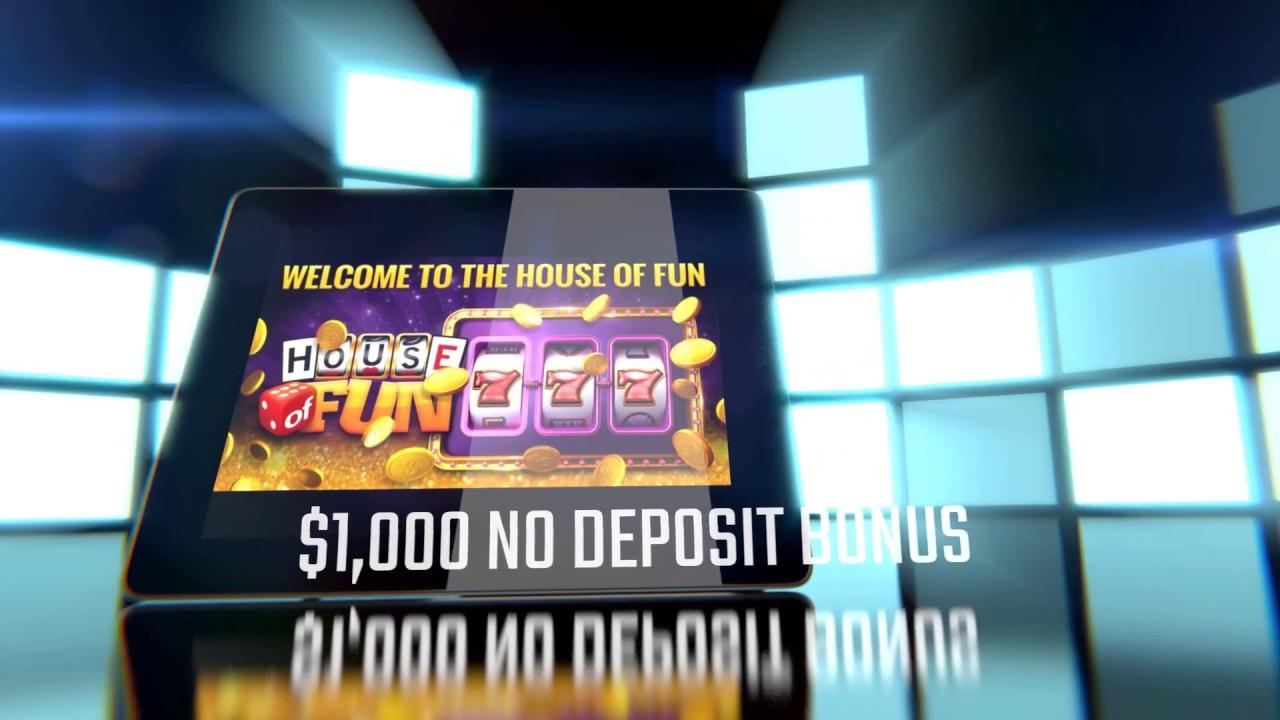 House of Fun Casino App 1000 COINS BONUS YouTube