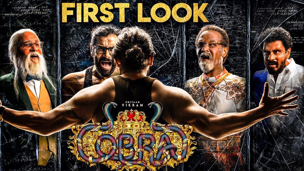 COBRA Official First Look | Chiyaan Vikram | AR Rahman | Ajay Gnanamuthu -  YouTube